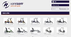 Van Raam configurator put together your bike overview