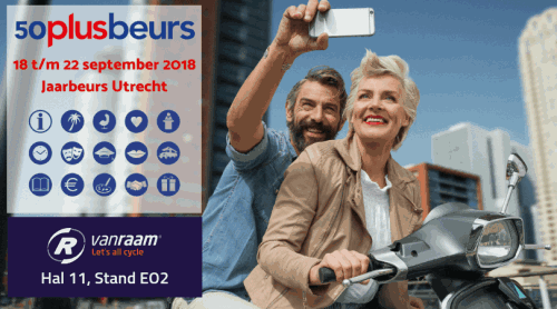 Visit Van Raam at 50PlusBeurs fair 2018