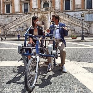 Fun2Go duo bike aspasso bike impressions rome with mayor