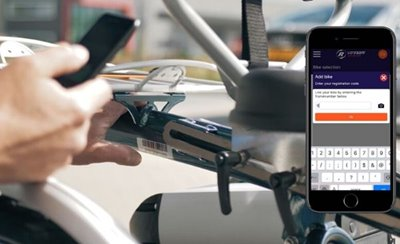 Connect to the Van Raam E-Bike App frame number