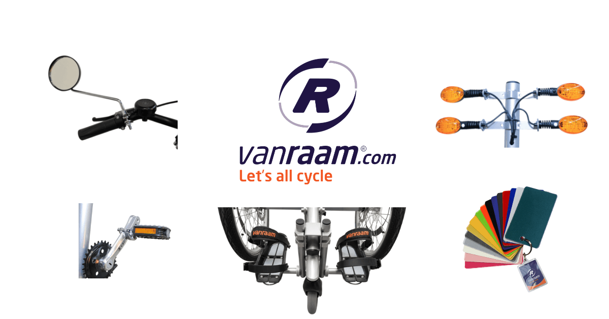 Accessories and options for Van Raam special needs bikes