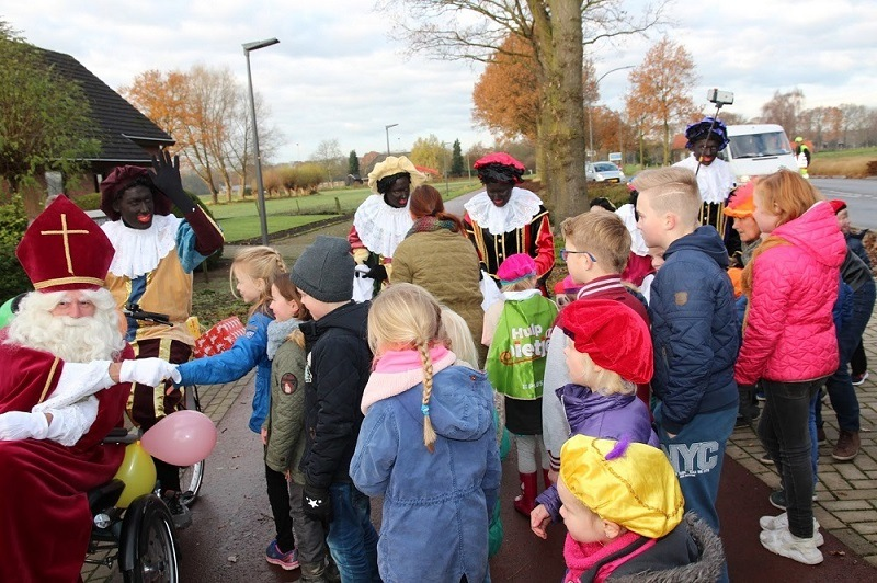 Sinterklaas in Westendorp