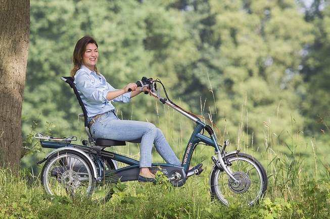 Avoid falls with the tricycle Easy Rider for adults