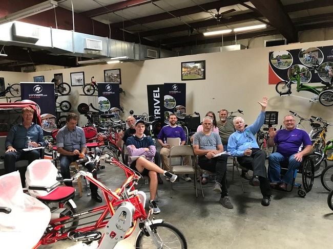 Van Raam visits dealers in the United States