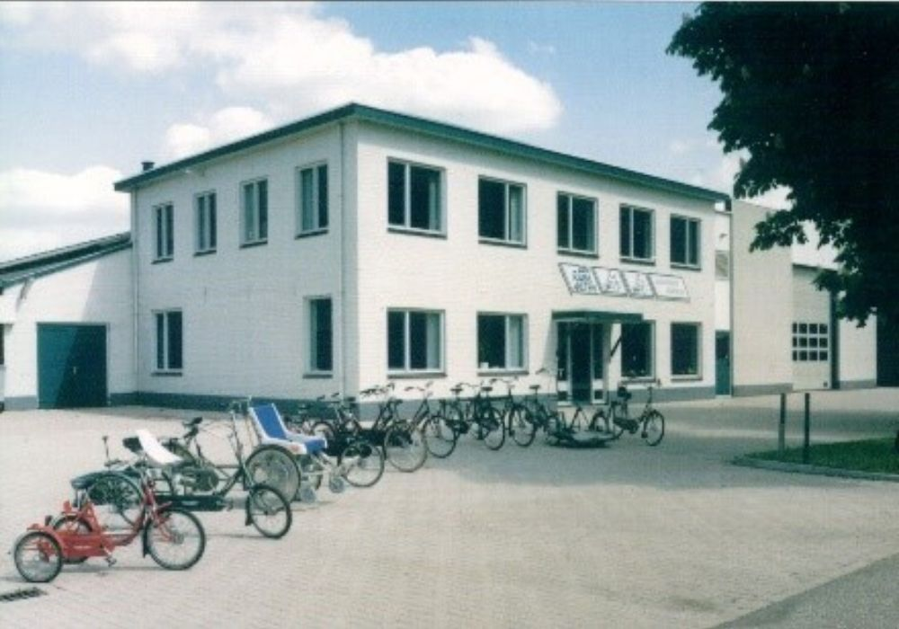 Manufacturer of custom bikes Van Raam building in Aalten