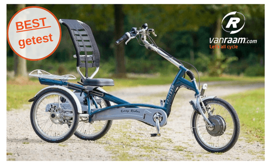 Best getest Easy Rider driewielfiets
