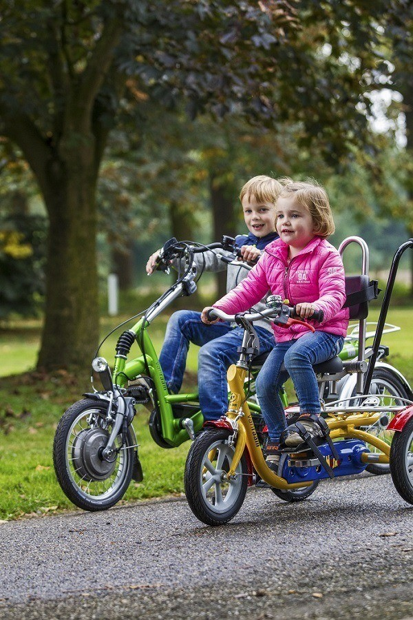 Special needs bikes for children with a disability
