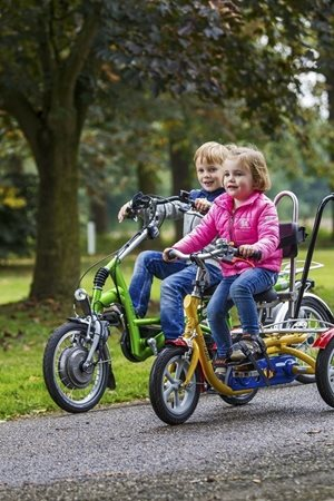 Van Raam adaptive bikes for children with a disability