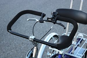 Uninterruped handlebar for people with one arm or hand
