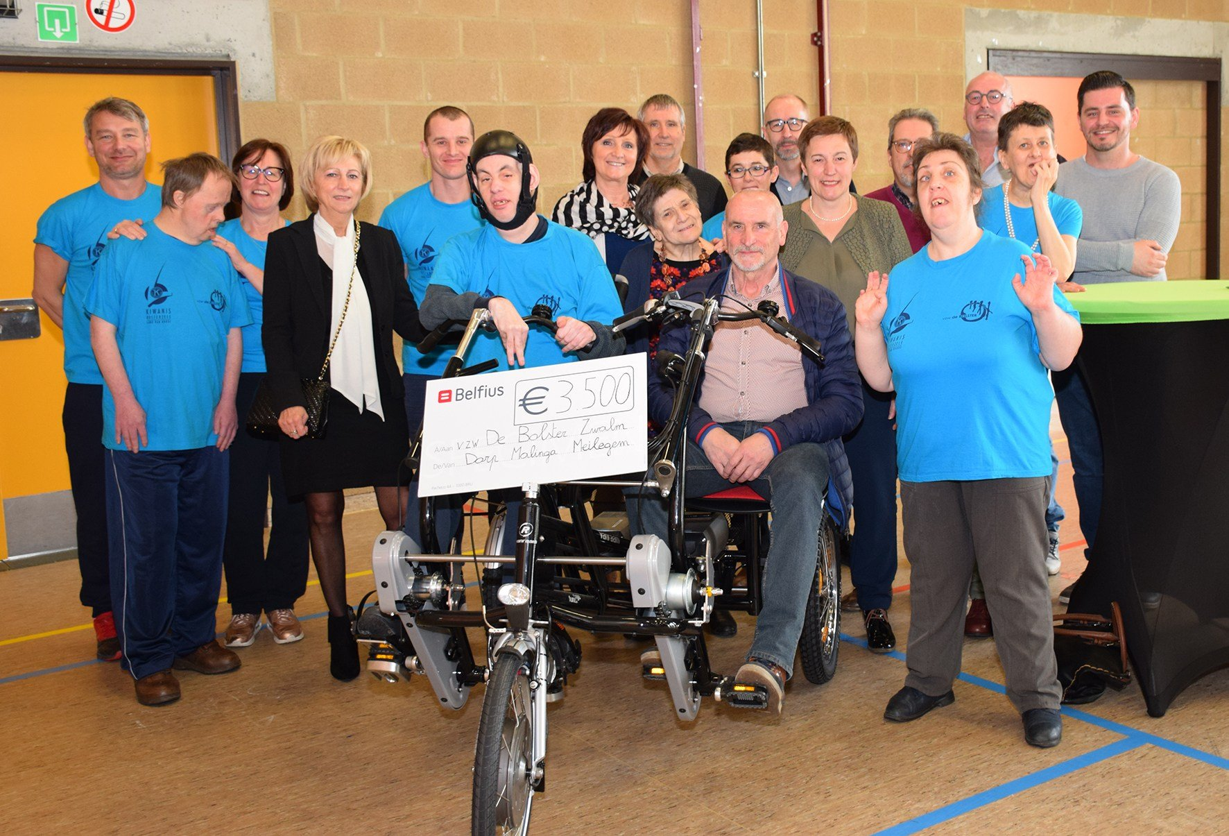 Double rider cycle for organisation because of donation fun fair
