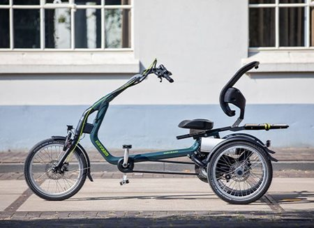 Configure your own Easy Rider tricycle with back seat and accessories