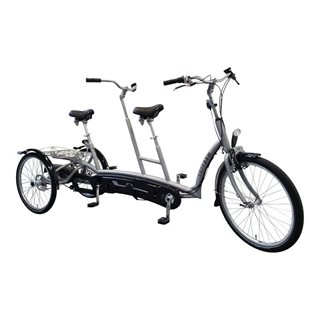 Twinny Plus tandem tricycle pour adultes