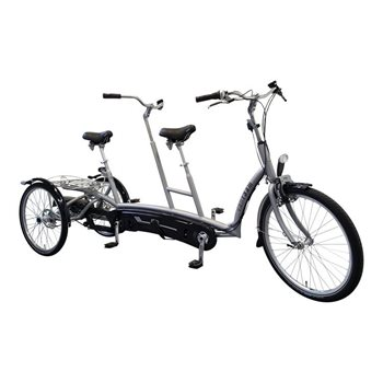 Twinny Plus tandem tricycle Van Raam