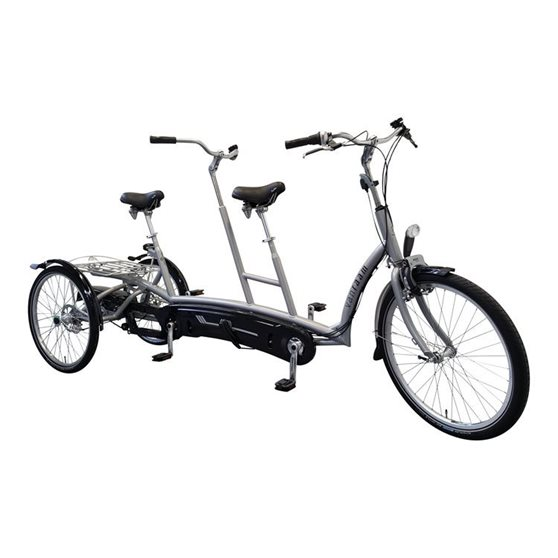 Tricycle-tandem