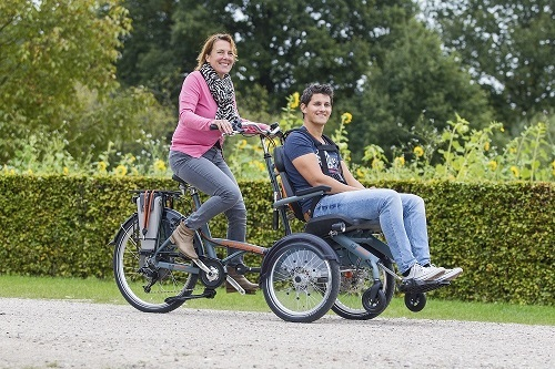 OPair wheelchair bike