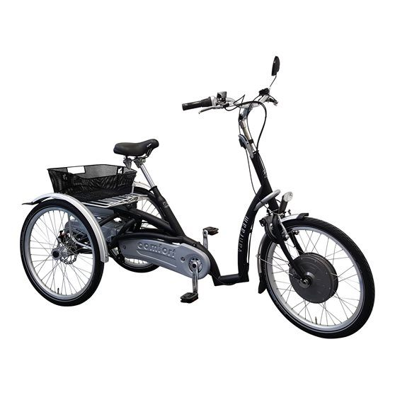 Maxi Comfort tricycle with  Silent HT VR2F motor