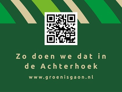 Groen is Gaon Initiative in der Region Achterhoek