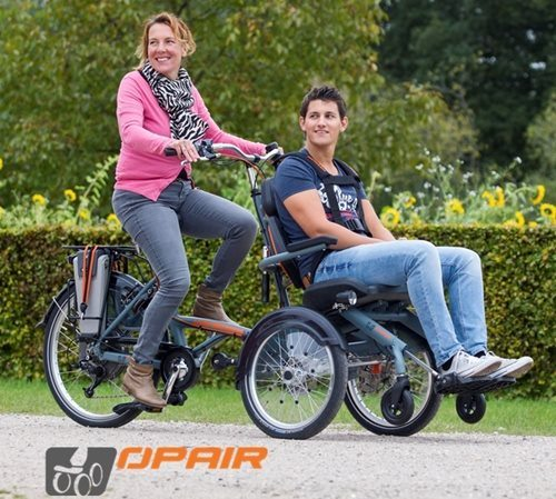 new wheelchair bike Opair