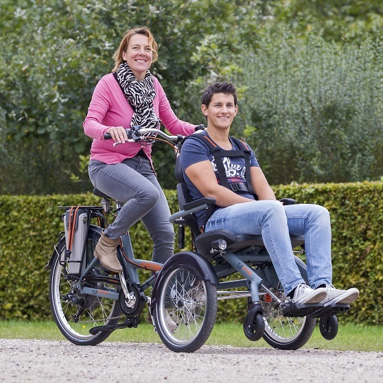 Wheelchair bike Van Raam