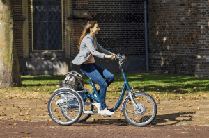 be on the road with an adapted bicycle