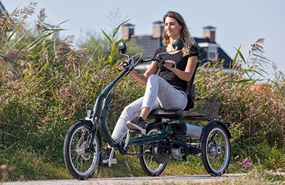 Easy Rider tricycle pour des problemes d'epaule