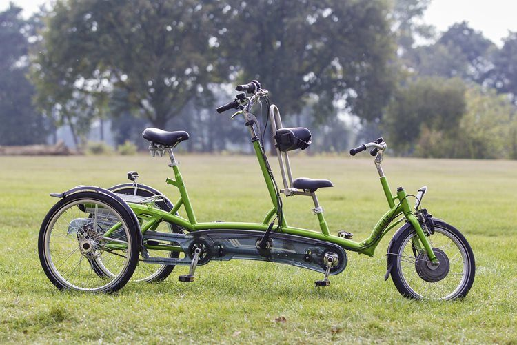 Kivo Plus tricycle tandem - Van Raam