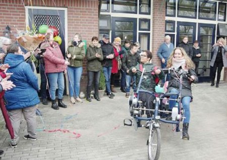 Van Raam Fun2Go duo bike for Thomashuis Ederveen