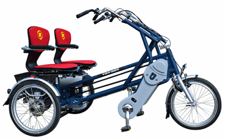 Fun2Go side-by-side tandem