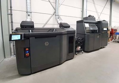 Van Raam Multi Jet HP Fusion 3D Printer