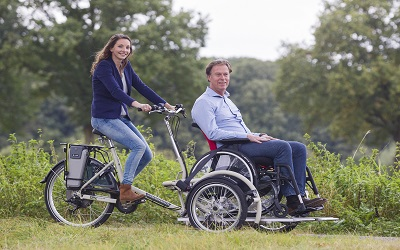Wheelchair-transport-bike-VeloPlus-Van-Raam