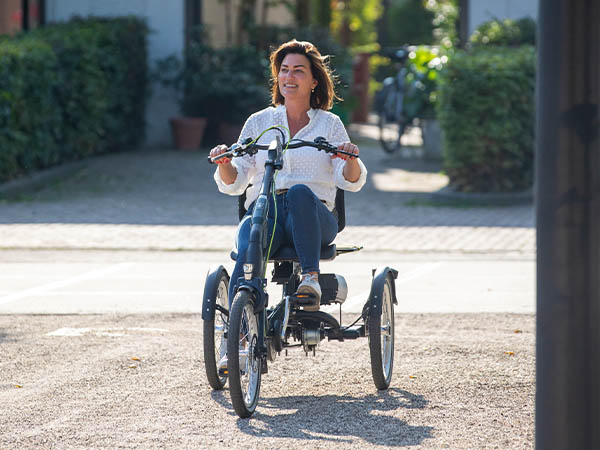 La nouvelle version du tricycle Easy Rider de Van Raam