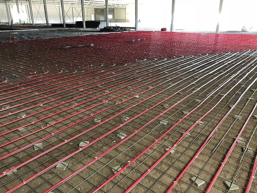 Week 35-underfloor heating techcenter Van Raam
