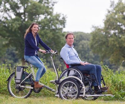 VeloPlus the tricycle for wheelchair users