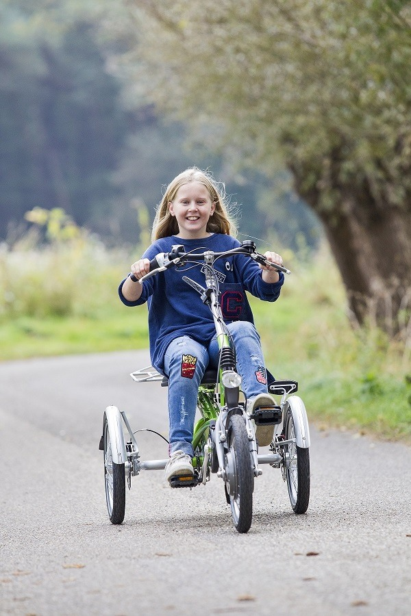 Special needs bike Easy Rider tricycle for children with a disability