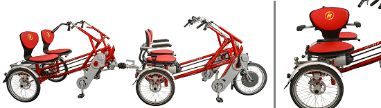 Fun2Go + FunTrain bike trailer