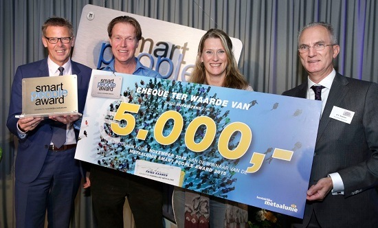 Metaal Unie Smart People Award Van Raam