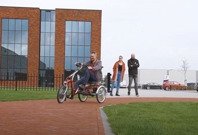 Try out a Van Raam bike at Van Raam Varsseveld