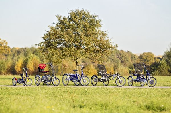 Bike for disabled people | Van Raam