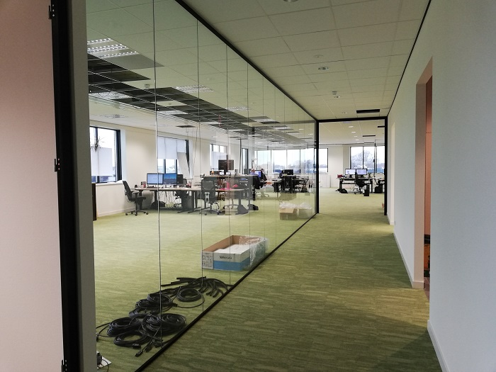 Open-plan office Van Raam