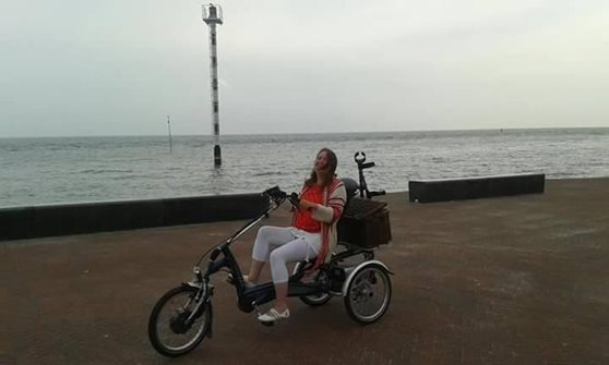 Cycling on holiday with tricycle Easy Rider