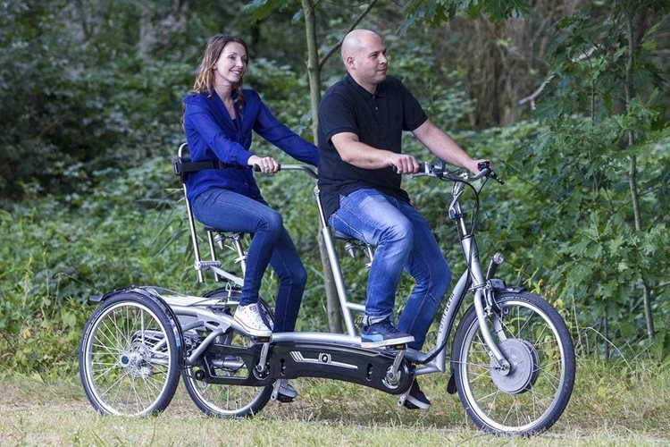 Twinny Plus three-wheel tandem for adults