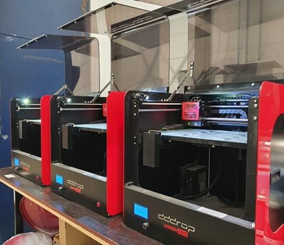 DDDROP FDM 3D printer Van Raam