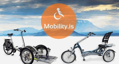 Mobility.is Van Raam bikes dealer in Iceland