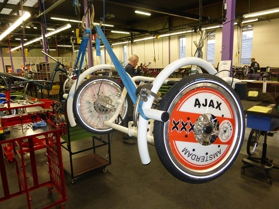 Van Raam factory Ajax bike
