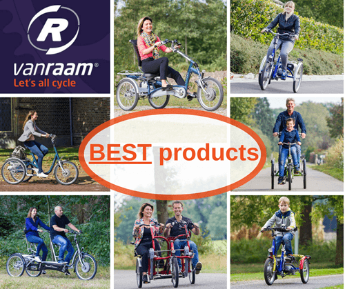Van Raam tricycles (best products)