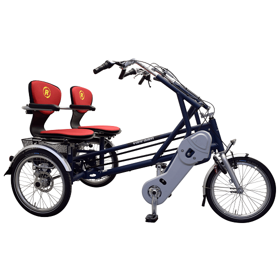 Side By Side Tandem Fun2go Componian Cycle Double Rider