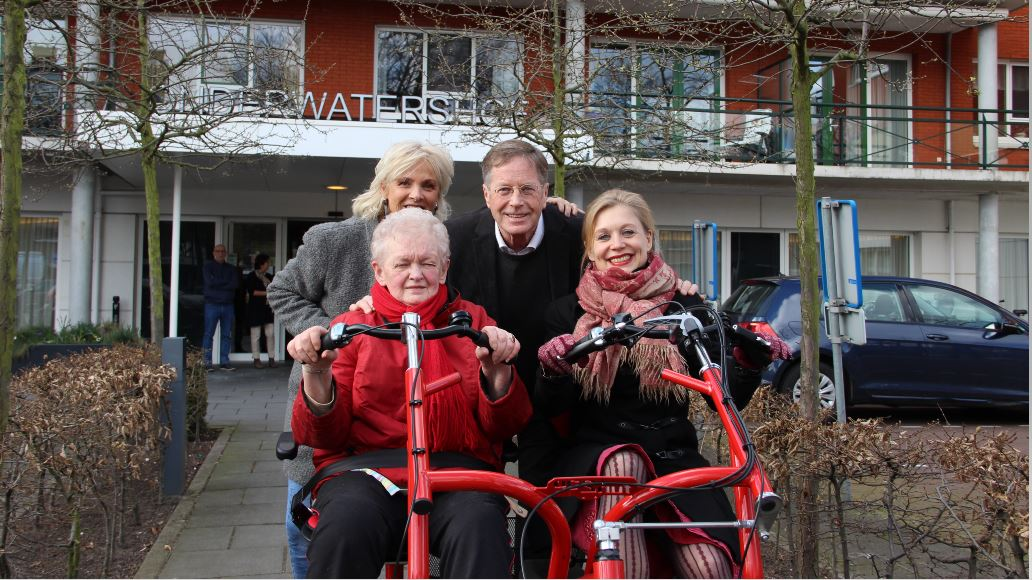 Residential care center receives a Fun2Go side by side tandem by a volunteer