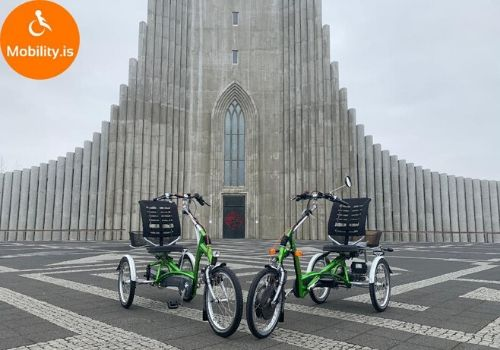 Easy Rider in iceland Mobility is