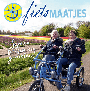 Fietsmaatjes with Van Raam duo bike